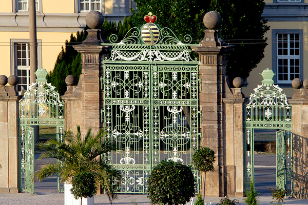 Orangerie-Tor Gotha