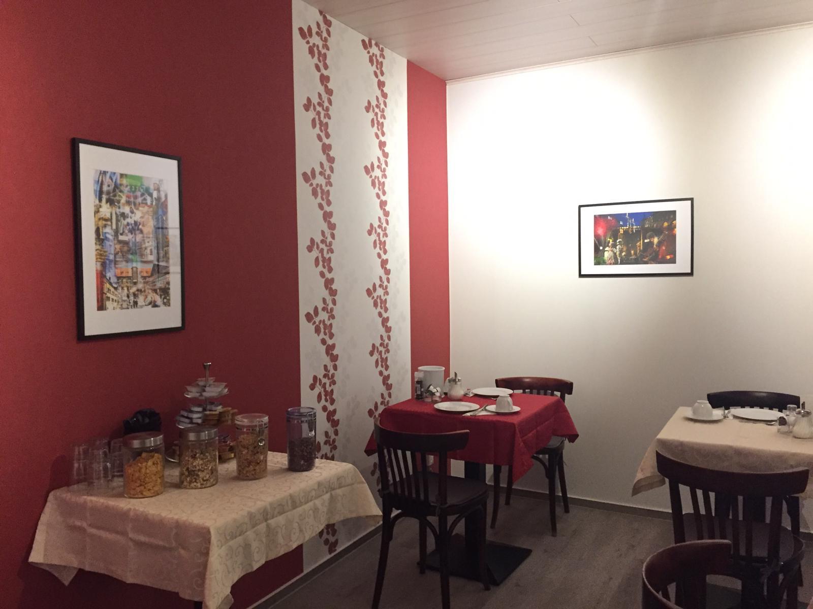 Unser Frühstücksraum